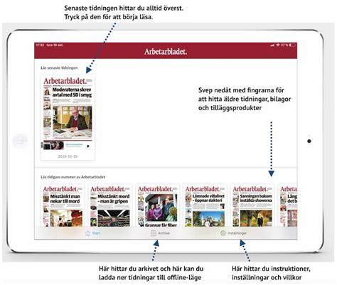 sala allehanda hur fungerar nya ios appen f 246 r e tidningen sala allehanda