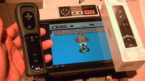 wiimote apk best xoom apps nesoid nintendo on xoom or android with wii remote booya gadget