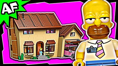 buy lego simpsons house lego simpsons house 71006 stop motion build review youtube