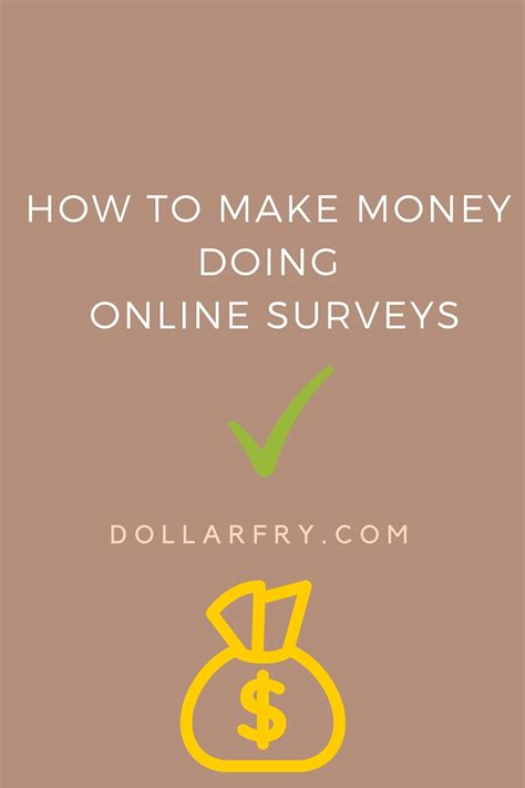 Earn Money Through Surveys - how to make money online doing surveys 10 online surveys for cash dollarfry com