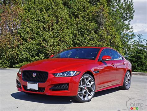 2017 jaguar xe 35t r sport review car news auto123