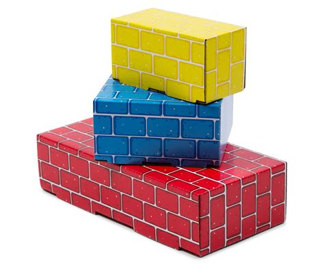 CatchOfTheDay.com.au Melissa & Doug 40Pc Deluxe Jumbo Cardboard Blocks