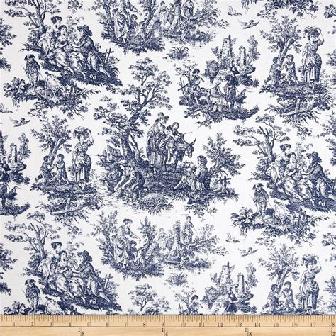 french blue upholstery fabric upholstery fabric drapery fabric blue toile french toile