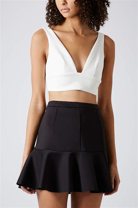 Topshop Vs by Topshop V Bralet In Lyst