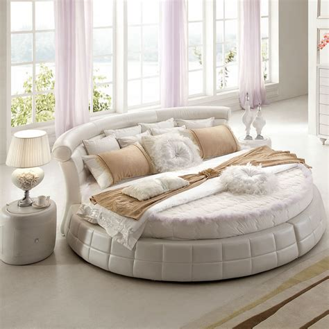 round bedroom set round shaped mattresses bed round shaped round king size