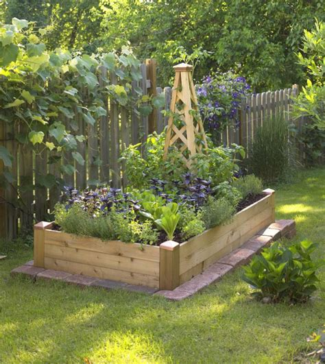 best dirt for vegetable garden small space gardening build a tiny raised bed midwest