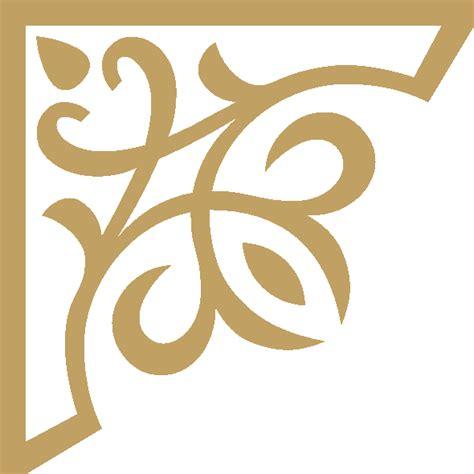 corner pattern png קובץ corner ornament gold up left png ויקיפדיה