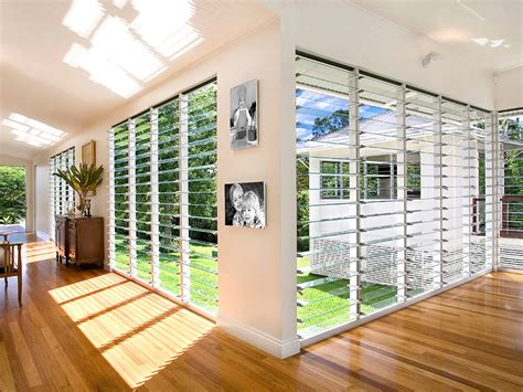 floor to ceiling louvre window applications australia
