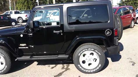 jeep sahara black 2 door 2013 jeep wrangler sahara black youtube