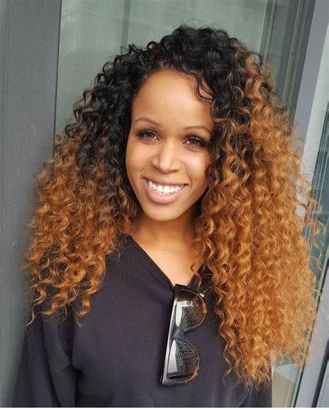 hairstyleswith bohemian kinky curly hair on african american women crochet braids hairstyles crochet braids pictures