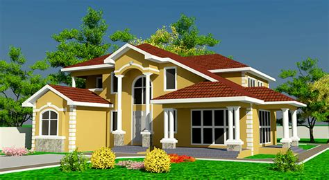 house plans with pictures of real houses ghana house plans naanorley house plan