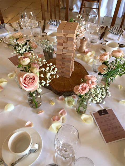 Simple Vase Centerpieces Wedding Decorations Berkshire Wedding Centrepieces