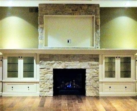 Billy Bookcase Fireplace Surround Cabinets Fireplace Pinterest