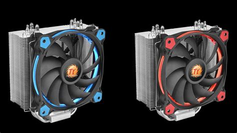 Cooler Thermaltake Riing Silent 12 Cpu Cooler thermaltake launches riing silent 12 cpu cooler jadorendr