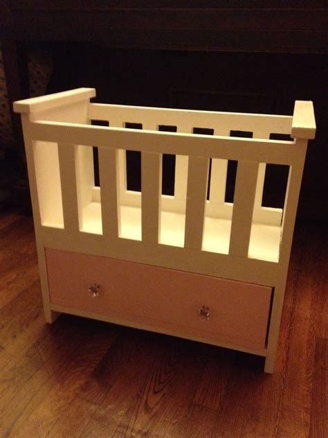 baby doll crib plans white rosie s baby doll bed diy projects