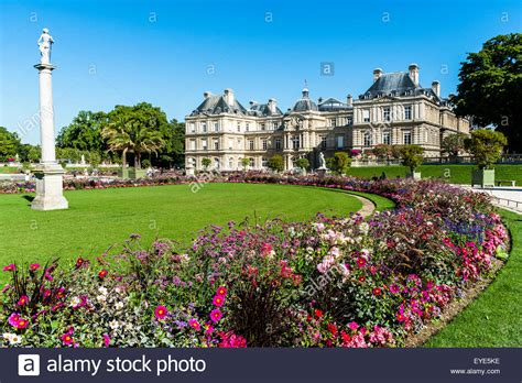 boulay frankreich le jardin du luxembourg gardens stock photo