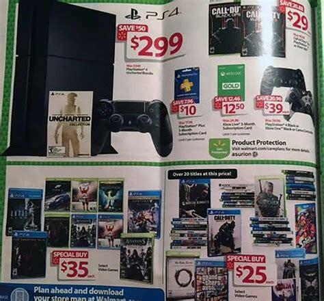 Walmart Gift Card For Less - walmart black friday deals include 299 ps4 xb1 bundles
