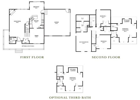richmond floor plan the richmond kirbor homes