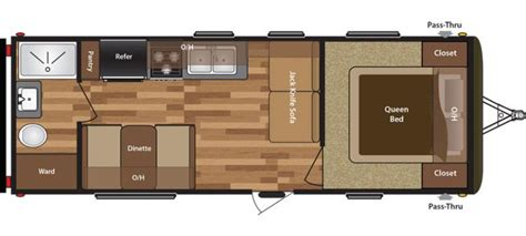 hideout rv floor plans 2016 keystone hideout 230lhs travel trailer southington