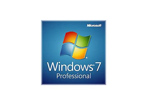 Microsoft Windows 7 Pro microsoft windows 7 professional with sp1 license 1 user fqc 08289 software media kits