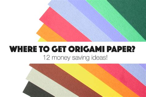 Places To Buy Origami Paper - where to get free origami paper around your house