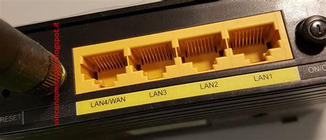 porta wan cos è per parlare di web router a cosa serve la porta lan wan