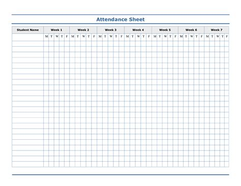 attendance card template attendance template free search ideas for