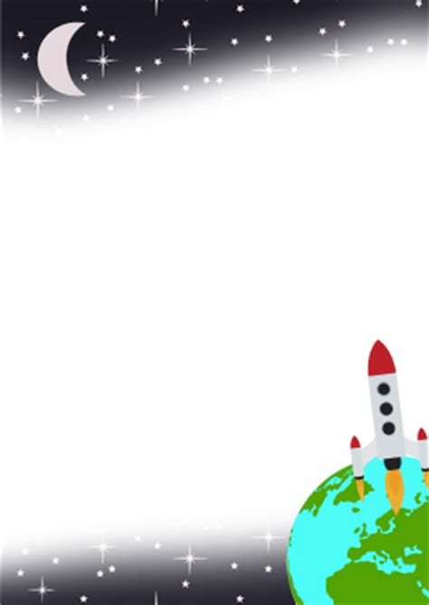 planet writing paper space themed writing paper new calendar template site