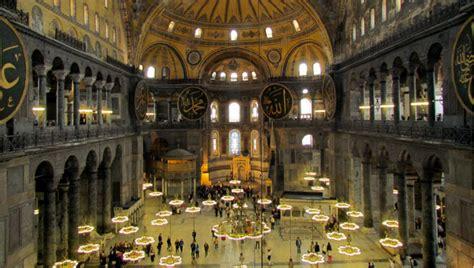 santa sofia istanbul interno i 10 monumenti pi 249 belli di istanbul