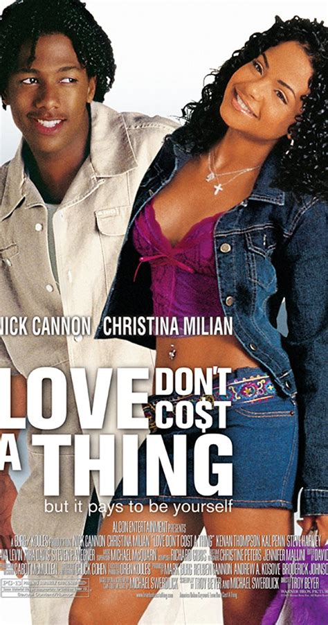 love don t cost a thing tattoo love don t cost a thing 2003 imdb