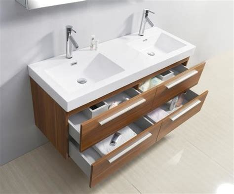 54 bathroom vanity double sink 54 inch double sink plum bathroom vanity contemporary
