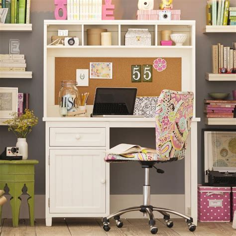 teenage desk pb teen vanity interiors pinterest