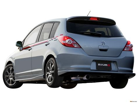 nissan tiida 2008 modified images of nismo nissan tiida hatchback s tune c11 2008