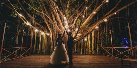 Outdoor Wedding String Lights 19 Wedding Lighting Ideas That Are Nothing Of Magical Huffpost