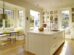 Centre Island Kitchen Designs - modern farmhouse kitchen kitchens pinterest