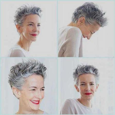short grey hairstyles those over 50 capelli corti e grigi 20 tendenze tutte da guardare