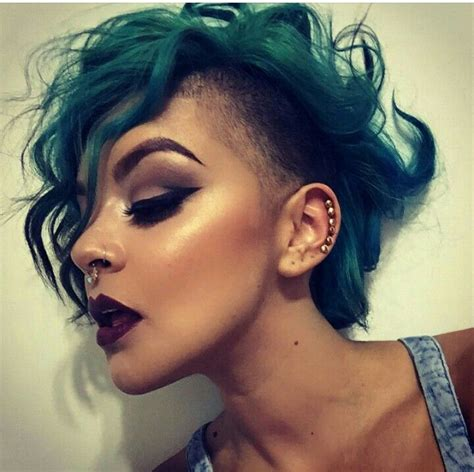 17 best images about side shave on pinterest long black curly side shave let down your hair pinterest side