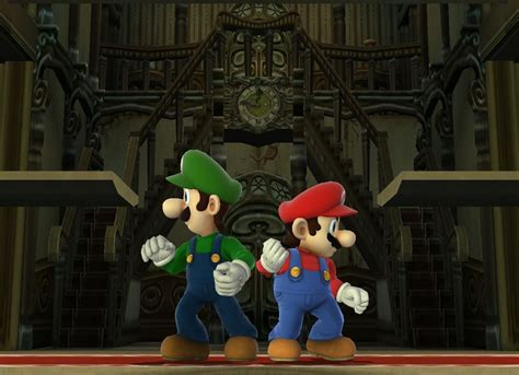 Bros Cemara 3 mario brothers in the mansion by banjo2015 on deviantart