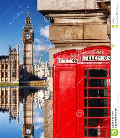 cabine telefoniche londra simboli di londra con big ben e cabine telefoniche rosse