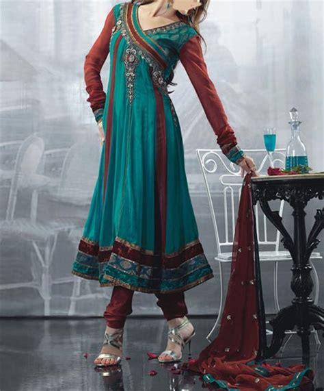 new fashion pajama farak 2015 pakistan latest stylish angrakha anarkali frocks neck for suit 2015