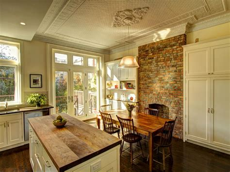 kitchen fireplace ideas photos hgtv
