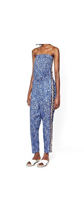 Jumpsuit Floral By Intan Bali connection bali border jumpsuit in bali floral