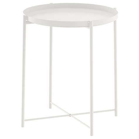 ikea white table gladom tray table white 45x53 cm ikea