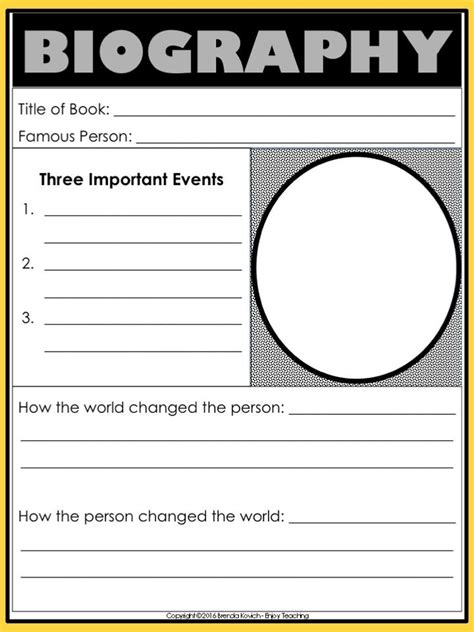 biography exle level 5 26 best teaching biography images on pinterest reading