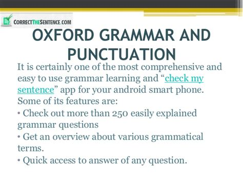 Smart Shortcut To Grammar Soft Cover 10 best apps to correct the sentence