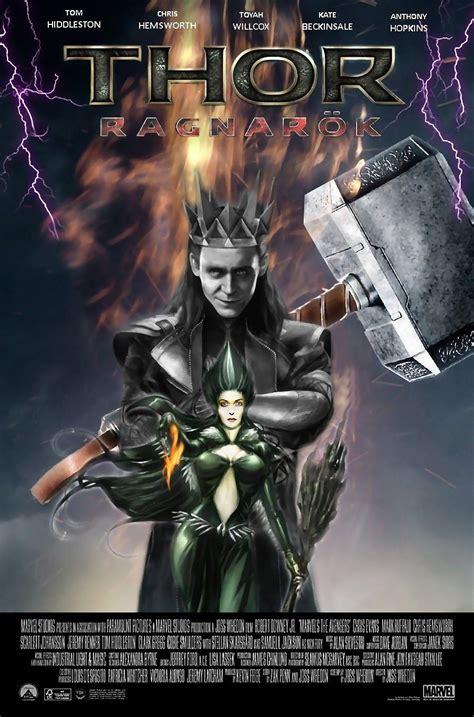 film marvel setelah thor ragnarok loki spoof poster thor ragnarok will be released