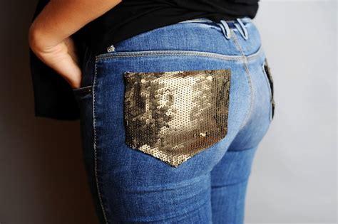 decorar bolsillos de jeans decorar bolsillos traseros de jeans