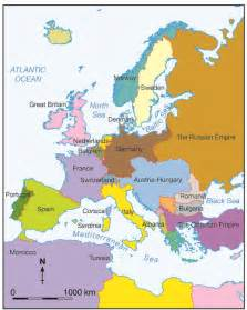Europe Map Before Ww1 by Map Of Europe Before Ww1 Karmaboxers