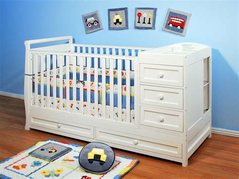 Afg Daphne I 2 In 1 Crib And Changer Combo Crib With Drawers And Changing Table