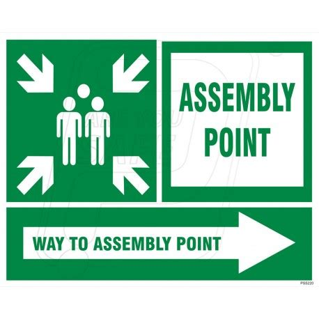 Safety Sign 3m Assembly Point Titik Kumpul assembly point in ahmedabad gujarat protector firesafety india pvt ltd